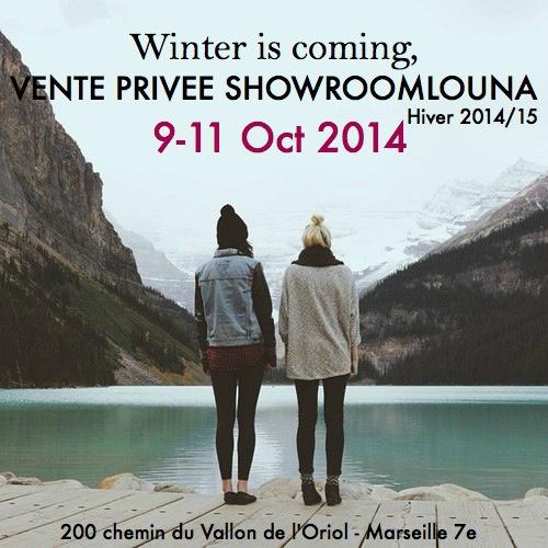 Showroomlouna retour des super ventes priv es du 9 au 11 oct marseille - Vente privee retour commande ...