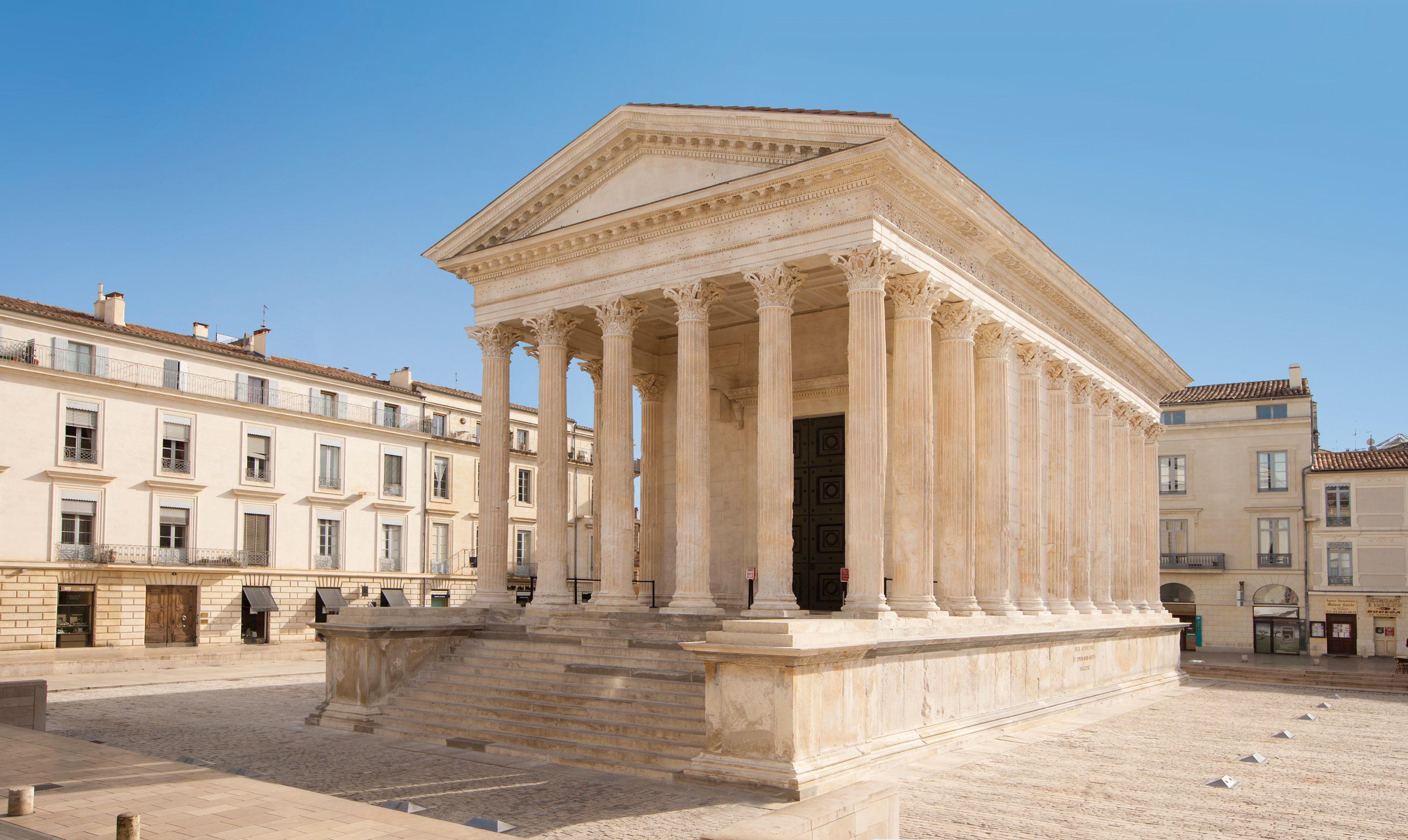 Maison Carrée. Photo OT Nîmes O.Maynard (2)