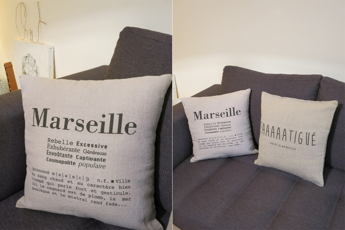 marseille coussin